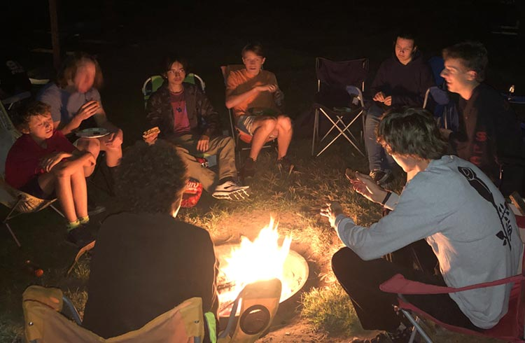 Camping in Vernal, 2019