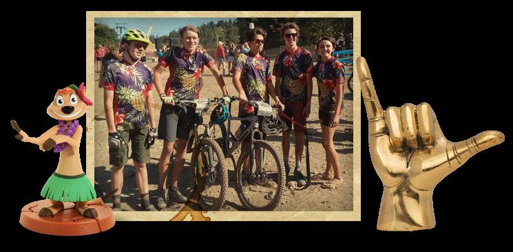 Utah High School Mountain Biking Team
