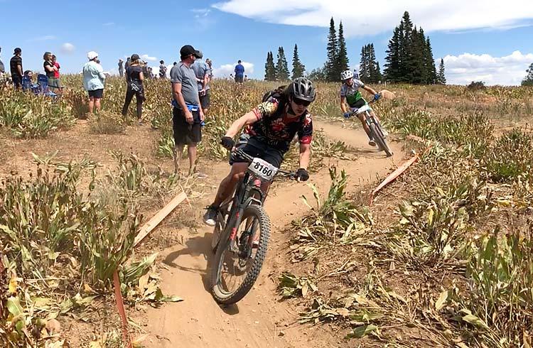 Jake racing Powder Mountain 2019