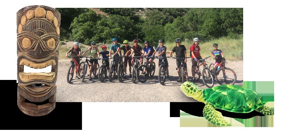 We are a high school mountain bike team in Utah